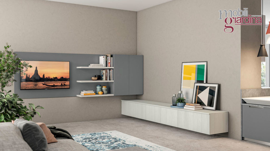 arredamento living minimal