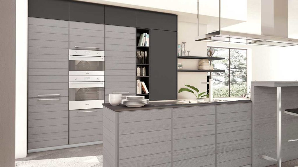 cucina adele legno grigio