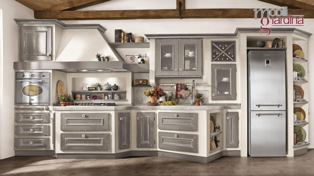 cucina beatrice in legno grigio