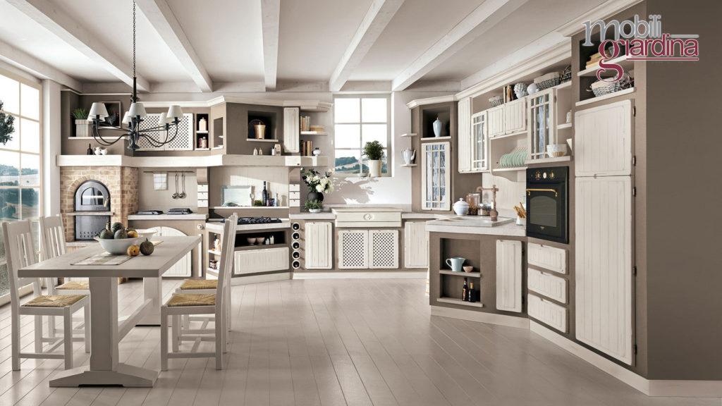 cucina elena con sportelli bianchi