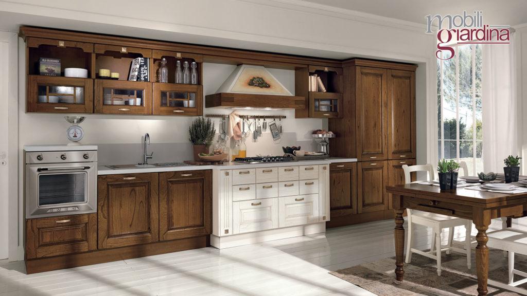 cucina laura legno bicolore