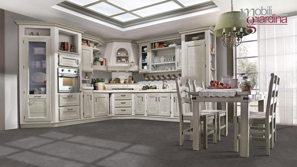 cucina luisa in legno grigio