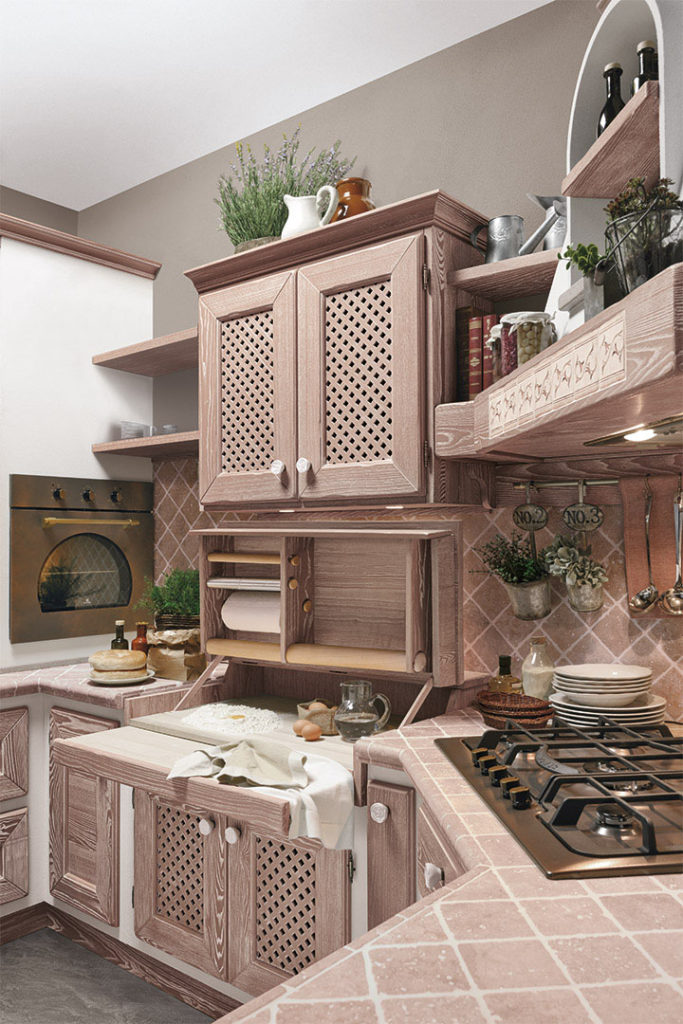 cucina luisa sportelli in legno