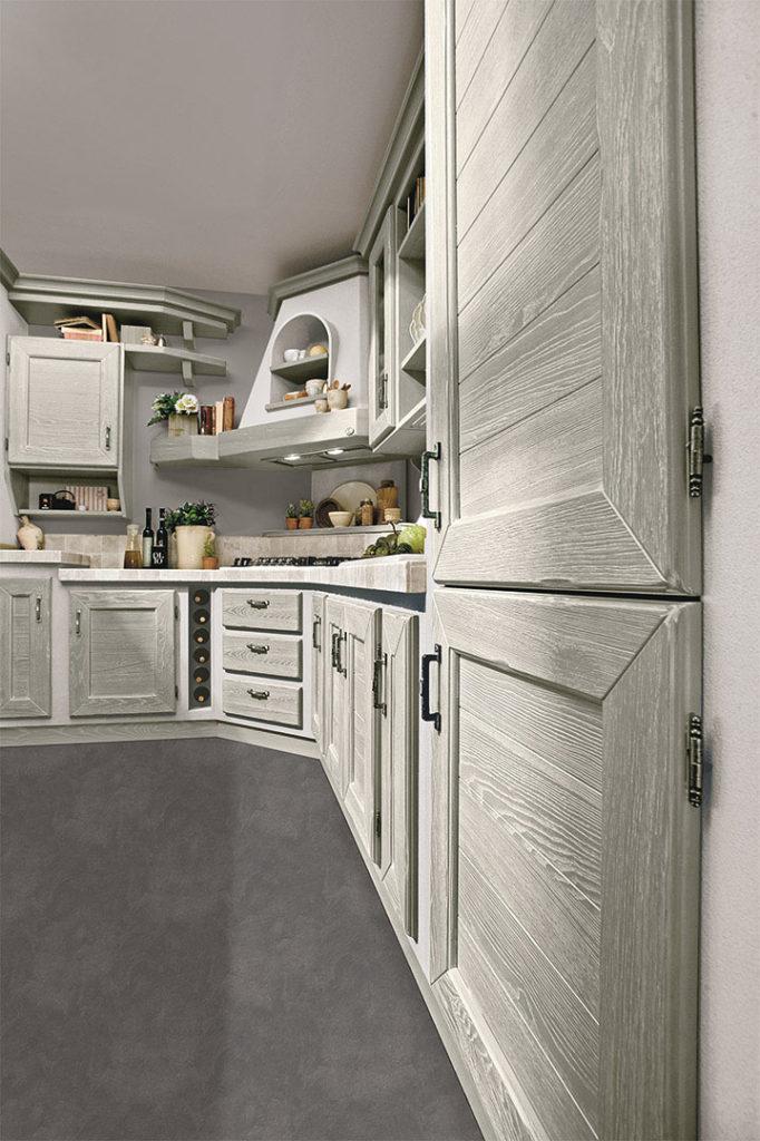 cucina luisa sportelli in legno grigio