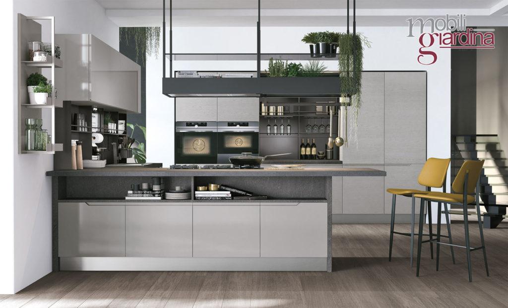 cucina luna grigio