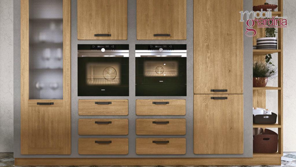 cucina rebecca credenza in legno