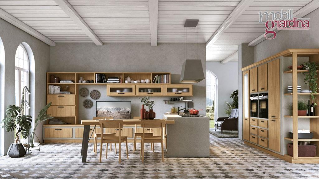 cucina rebecca e arredamento in legno