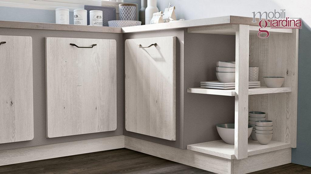 cucina rebecca sportelli in legno chiaro