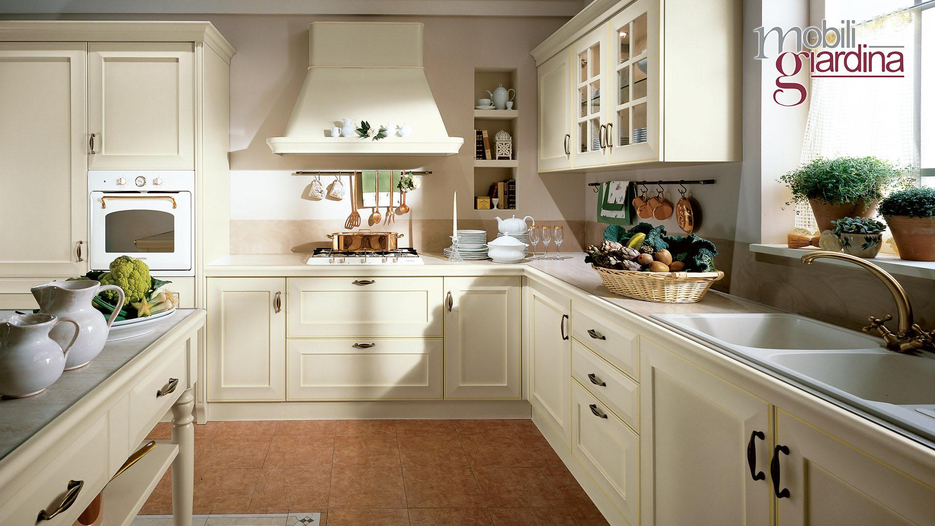 cucina velia laccata bianca – Lube Catania