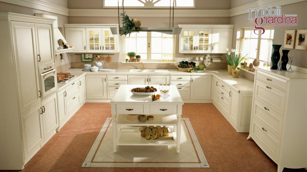 cucina velia laccata vista fontale