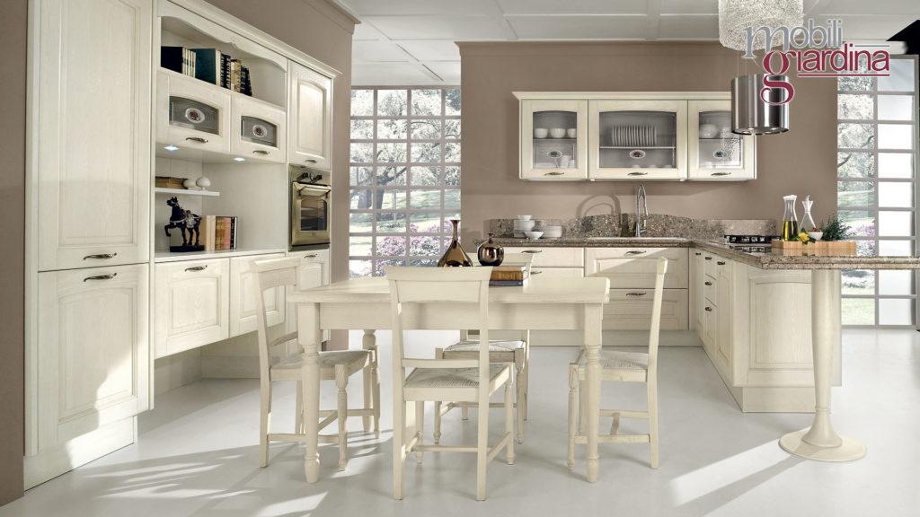 cucina veronica con sportelli bianchi