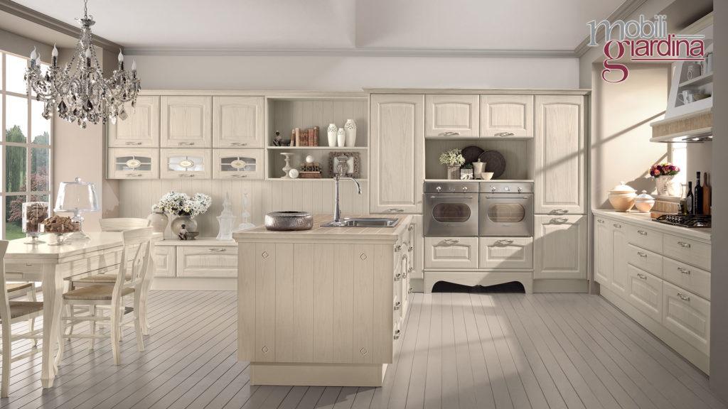 cucina veronica in legno chiaro